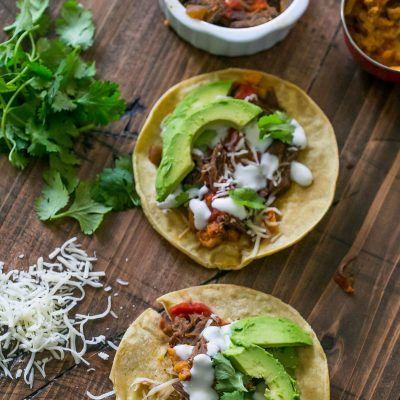 Slow Cooker Beef Short Rib Tacos