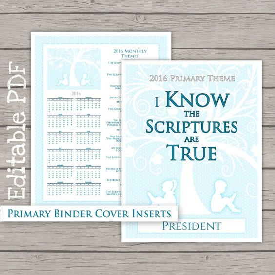 Search results for lds printable 2015 primary binder for Idea door primary 2015