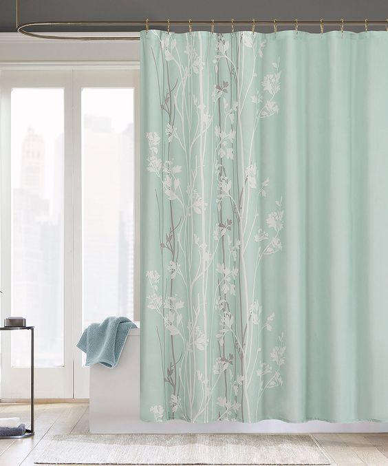 Seafoam Noelle Shower Curtain by  #zulily #zulilyfinds