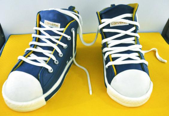 Torta zapatos Converse