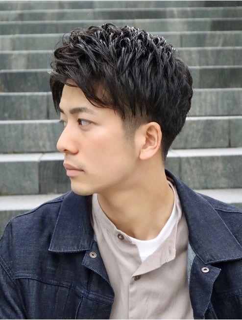 ヨシザワ横浜 ビジカジシークレットくせ毛風アイロンパーマ