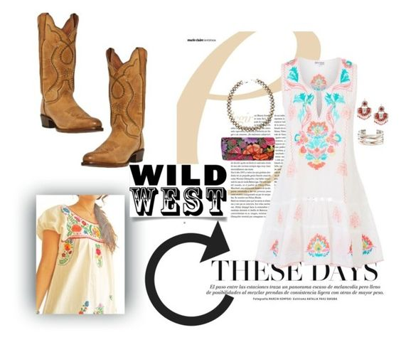 """Wild Wild West"" by emilymangels04 ❤ liked on Polyvore featuring Juliet Dunn, Zink and wildwest"