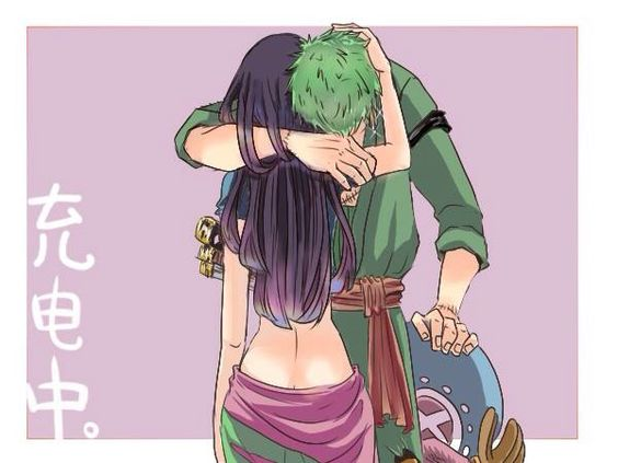 Zoro x Robin ♡ (ok truthfully I never shipped Zoro with anyone but I must admit they'd make a perfect couple):