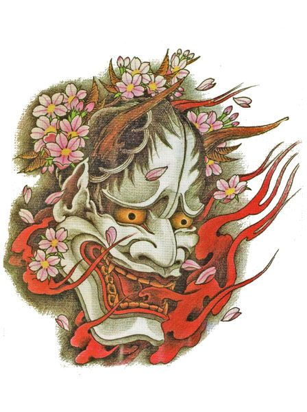 Japanese Demon Tattoo Flash Designs. Top quality high ...
