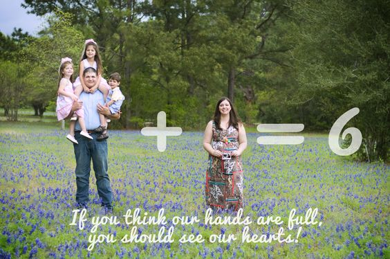 Baby announcement in a Blue Bonnet field.  By Kellie Ramsey