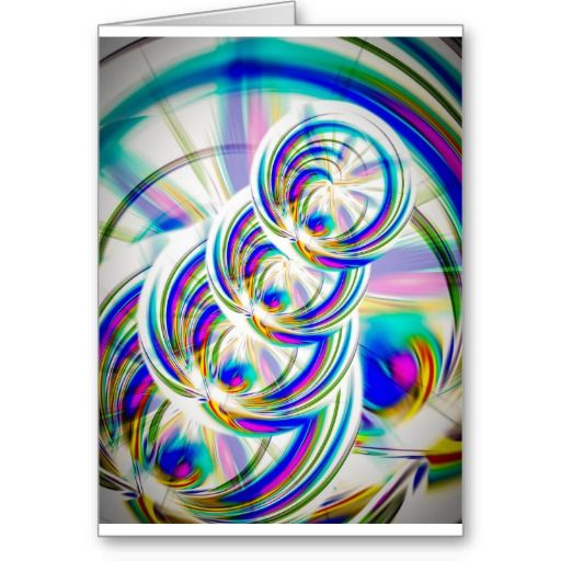 Farben und Formen Grusskarte