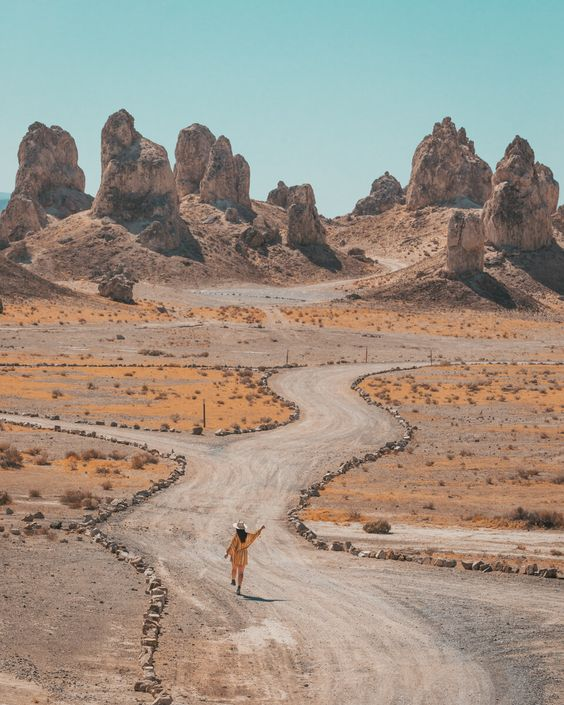 Trona Pinnacles // Ultimate Death Valley Road Trip: A 5-Day Itinerary from LA // #readysetjetset #deathvalley #nationalpark #adventure #blogpost #travel #guide #roadtrip #california #USA
