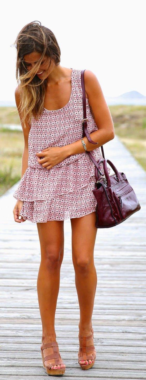 #vestido #babado #estampa