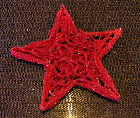 Adventsschmuck: Stern aus Wolle | Frag Mutti