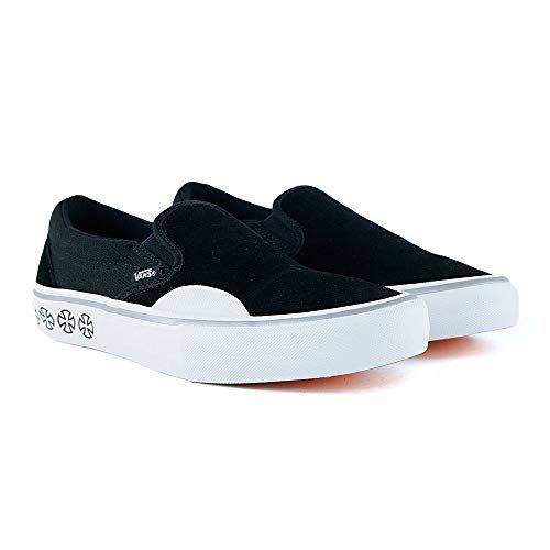 Chic Vans x Independent Slip-On Pro Sneakers (Black/White ...