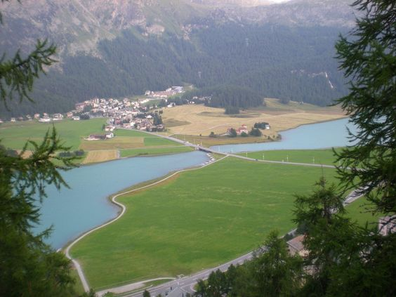 lakes Saint Moritz
