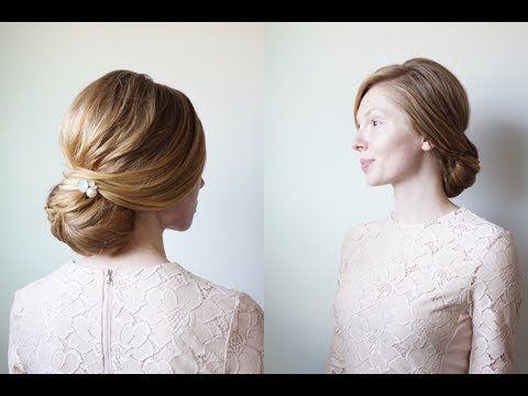 The Kate Chignon Hair By Hannah Youtube Kate Middleton Hair Chignon Hair Chignon
