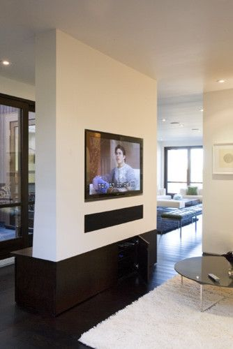 Fireplace Wall Flush Wall With Glass Tile And Metal: Pinterest • The World's Catalog Of Ideas