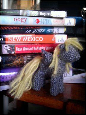 Terri Oda: Crochet Pony Pattern inspired by My Little Pony: Friendship is Magic