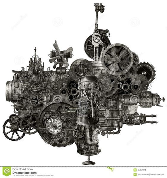 fantastical machines funky and whimsical steampunk