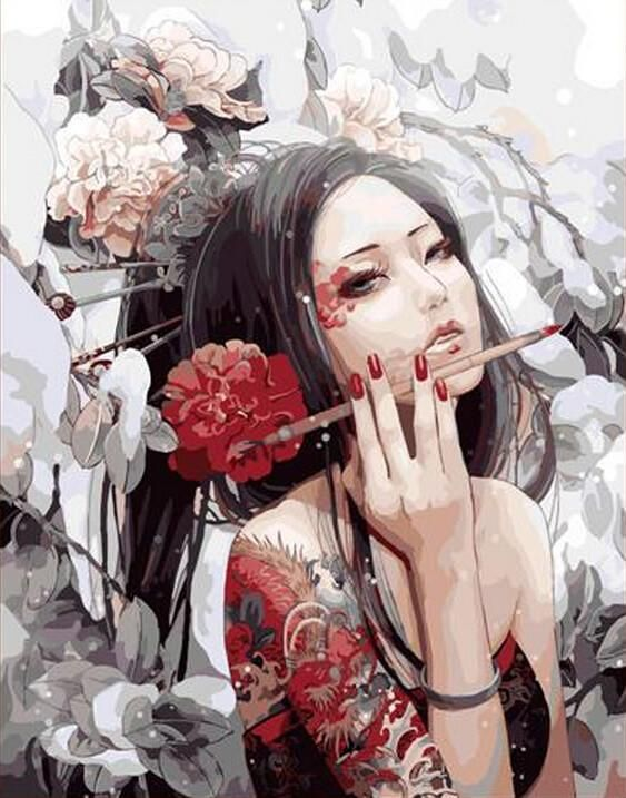 Painting By Numbers Frameless Picture Diy Digital Oil Painting Sassy Girl Gift Paint By Number Kits Gift Cuadros Decoracion 292