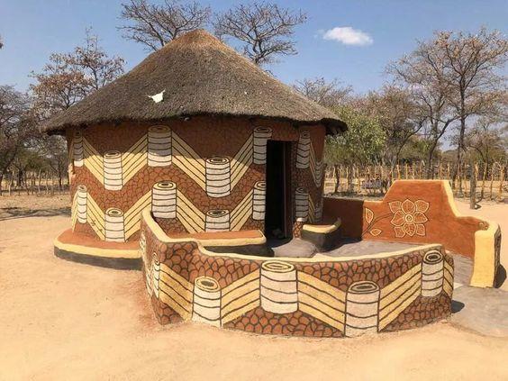 Fotos: Chozas diseñadas por las mujeres de Matobo, Zimbabwe - Creative Loop