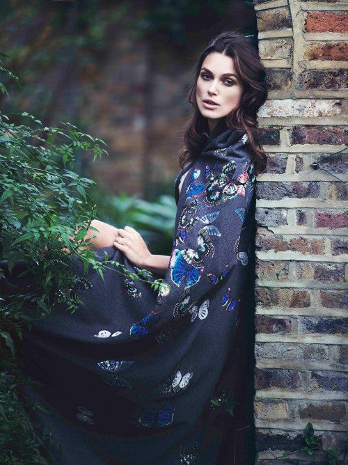 "Keira Knightley cover and photoshoot for ""The Edit"" magazine"