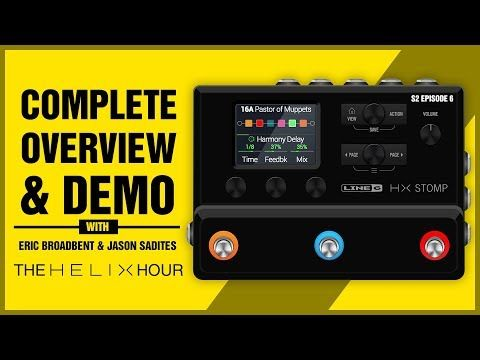 Line 6 Hx Stomp Overview Demo With Jason Eric Eric Guitar Lessons Demo