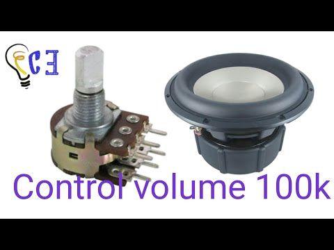 Amplifier Video Loudspeaker Bass Subwoofer Controller Car Audio Regulator