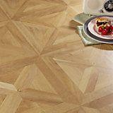Staccato Oak Parquet Effect Laminate Flooring 1.86 m² Pack   Departments   DIY at B&Q