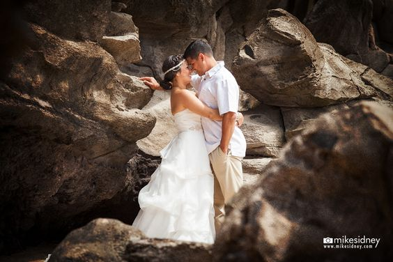 Newly weds in love, captured by Mike Sidney Photography! www.mikesidney.com