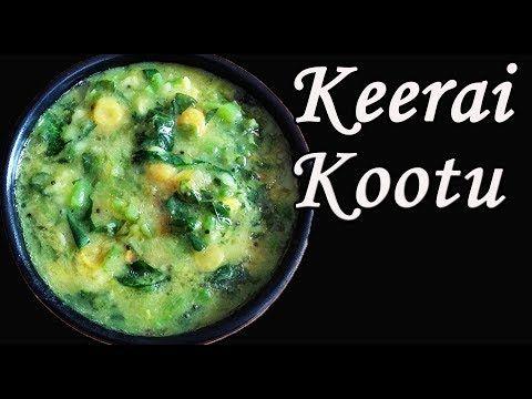 Thandu Keerai Kootu In Tamil Keerai Kulambu In Tamil Keerai Recipes In Tamil Youtube Recipes In Tamil Kootu Recipe Recipes
