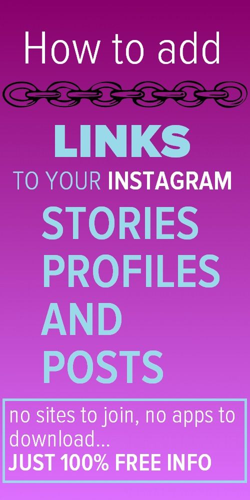 Clickable Links On Instagram How To Add Links To Posts Pages And Stories Social Media Marketing Blog Instagram Marketing Tips Instagram Marketing