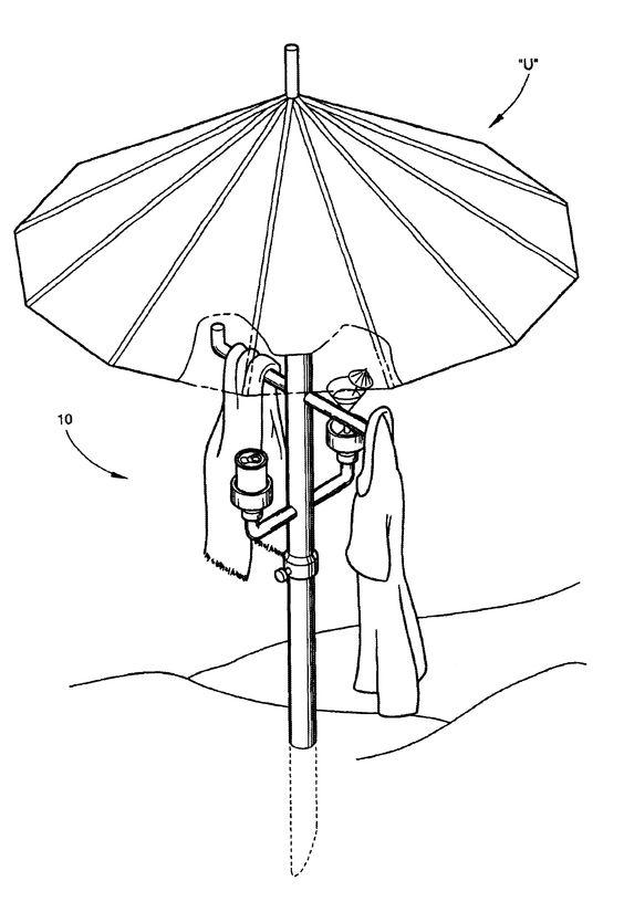 acessórios para guarda sol: