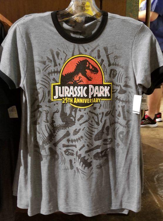 Jurassic Park 25th Anniversaire T-shirt Jurassic World Fallen Kingdom tee shirt