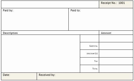 Microsoft Word Receipt Template Fresh Cash Receipt Templates For Ms Word Excel Receipt Template Templates Proposal Templates