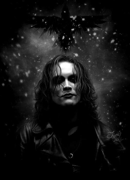 The Crow - Brandon LEE by teomanmete     will always love this movie