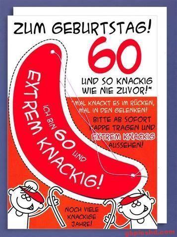 Bilder 60. Geburtstag Mann Lustig / 1001 Originelle