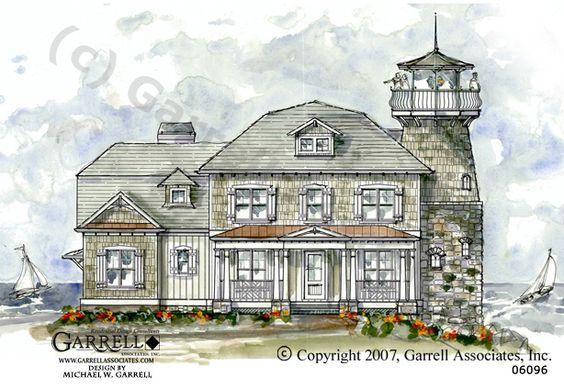 Garrell Associates Inc Windy Point Lighthouse House Plan