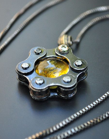 Pingente Orb Charm – Amber
