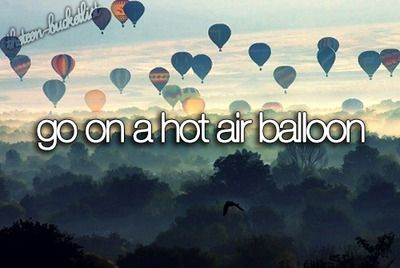 So awesome bucket list