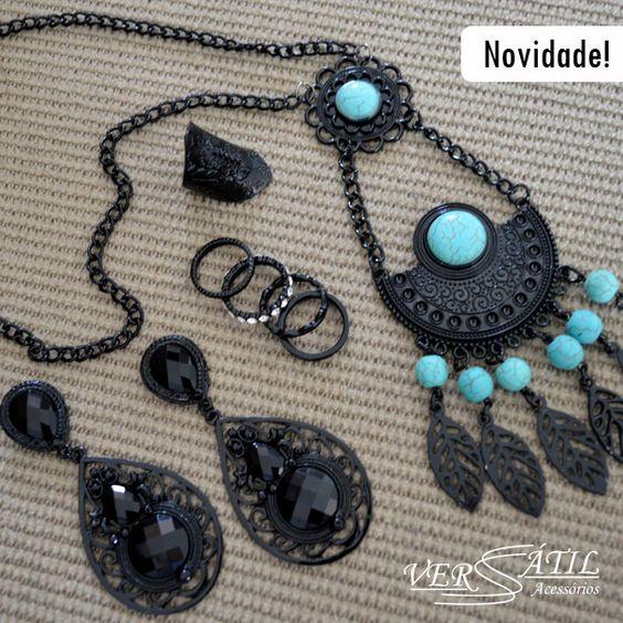 http://www.versatilacessorios.com.br/ #maxicolar #anelpandora #mixdeacessorios #anelismo