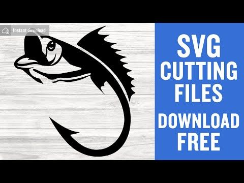 Fishing Hook Svg Fishing Svg Files Vector Files For Cutting Printing Web Design Projects And Much More Clip Art Art Collectibles Kromasol Com