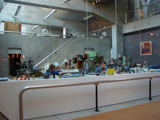 Musée International d'Horlogerie - Pierre Zoelly, Georges-Jacques Haefeli, Pierre Beurret (ingénieur) - 1972-74