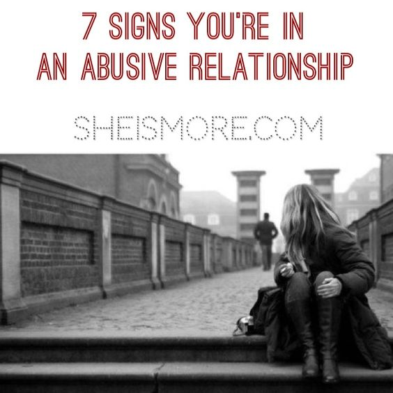 warning signs that you are in an emotionally abusive relationship