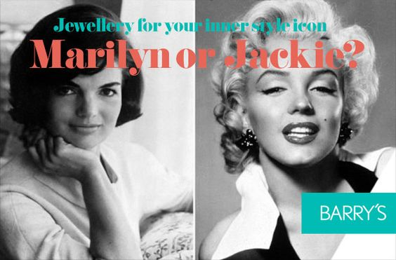 Are you a Marilyn or a Jackie?