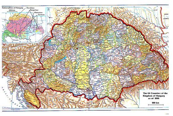 HUNGRIA 1886