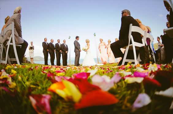 Love weddings in amazing locations! Photograph by Lisa Michele Burns