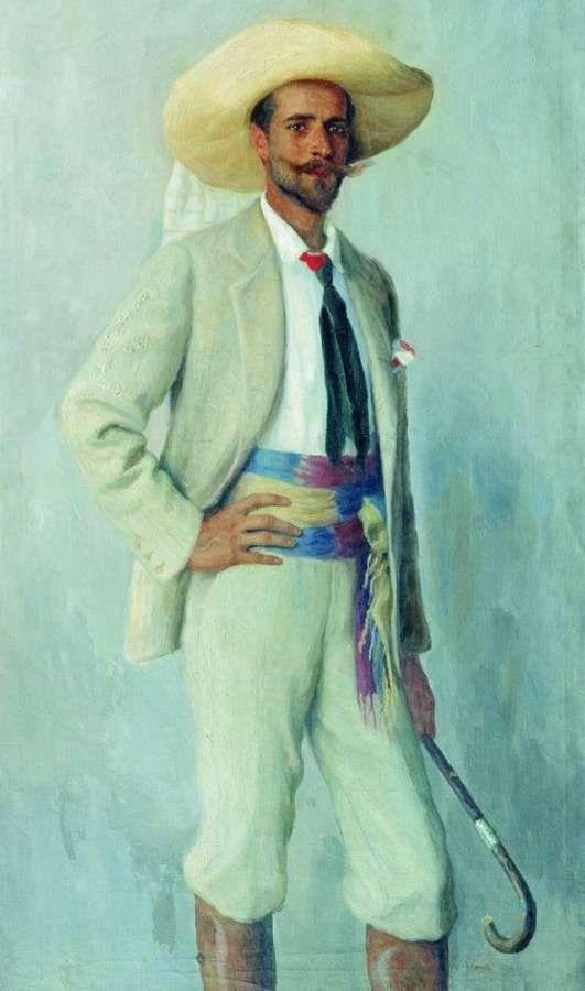 'Portrait of A.K. Gorchakov', 1904 - Nikolay Bogdanov-Belsky