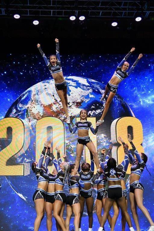 Cheering On The World