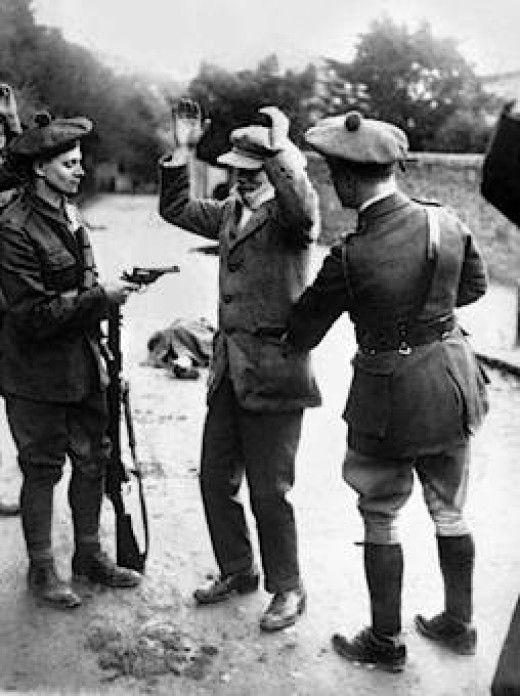 Irish War of Independence - British