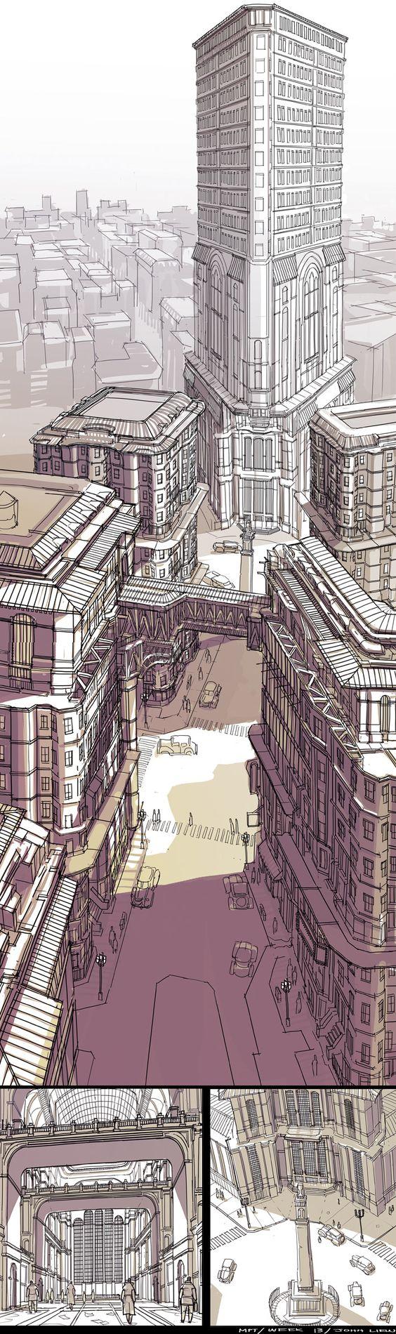 Feng Zhu Design: More Student Work via PinCG.com