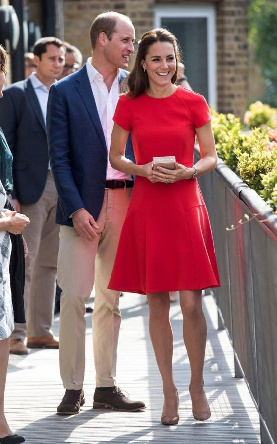 Kate wearing L.K. Bennett for Heads Together engagement on 8/25/2016