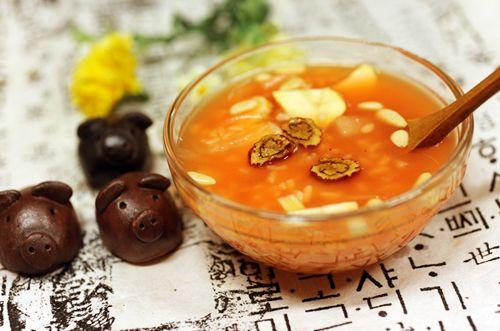 Rượu trái cây độc đáo Sujeongga của người Hàn Quốc
