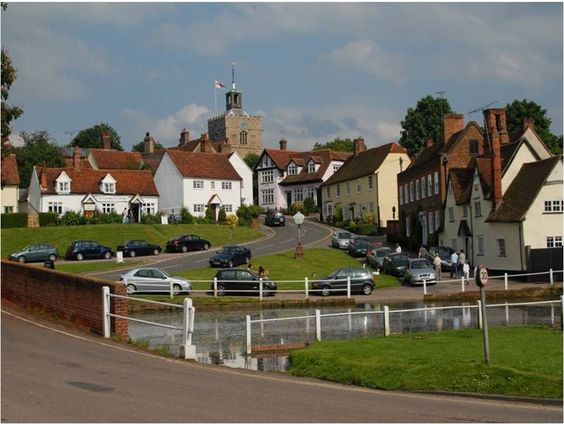 Finchingfield, Essex, England. This place was so cute... So gorgeous!!